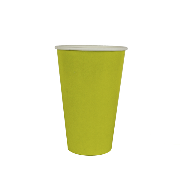copo 500 ml amarelo liso