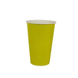 copo 300 ml amarelo liso