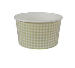 pote 550 ml quadriculado verde