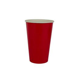 copo 300 ml vermelho liso