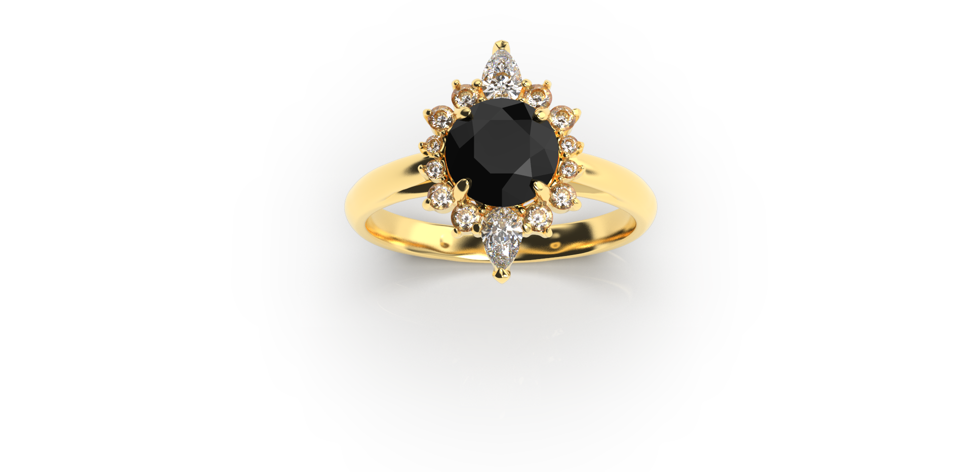 Bruce Trick - Black Diamond Ring perspec