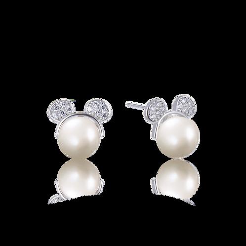 Pearl Mouse Earrings