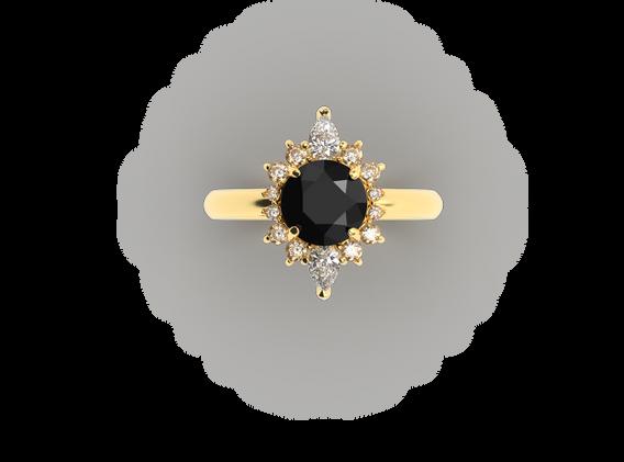 Bruce Trick - Black Diamond Ring top.png