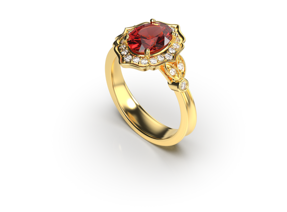 Bruce Trick - Ornate ring perspective 2.