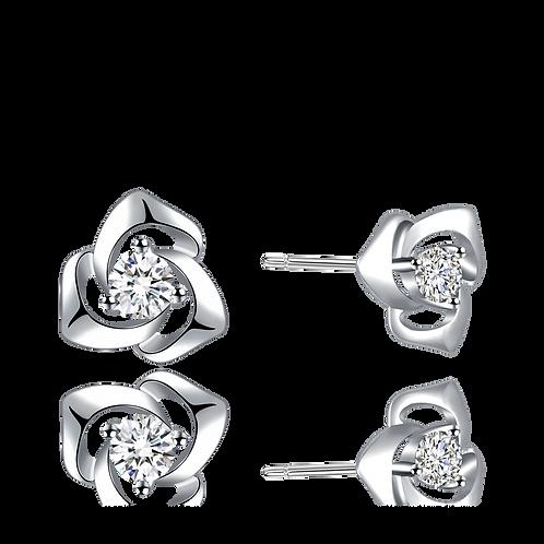 Rose Studs Earrings