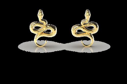 Shimizu Snake Earrings