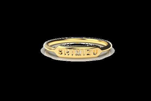 Shimizu Small Signet Ring
