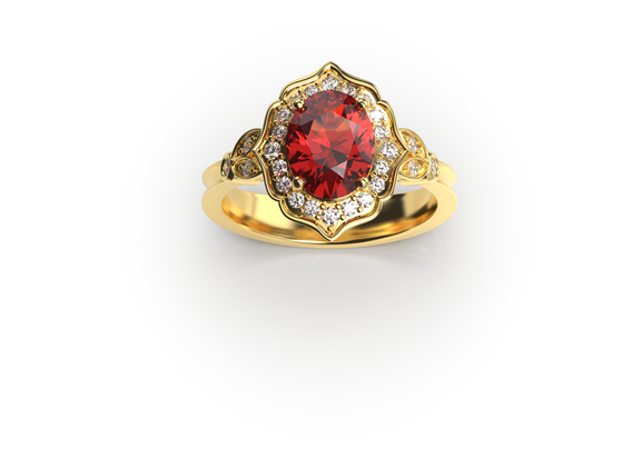 Bruce Trick - Ornate ring perspective 1.