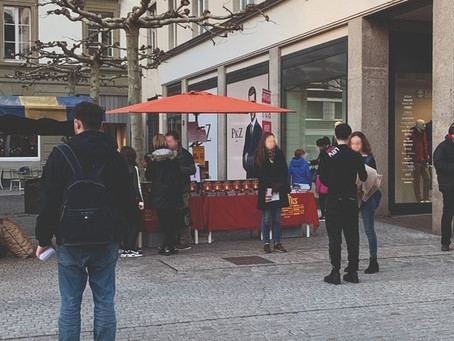 Niemand wirbt in Winterthur so offensiv wie Scientology