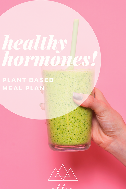Hormone Healing Meal Plan (Plant Based)