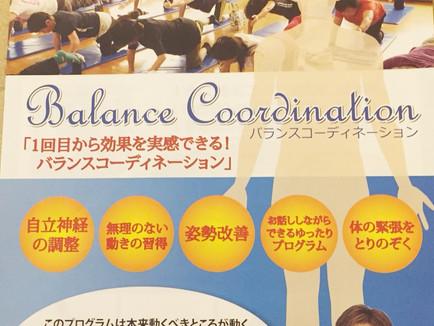 3月31日バランスコーディネーション体験会!