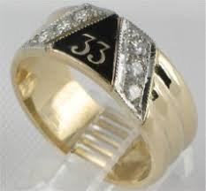 33rd Degree Nuggat Ring