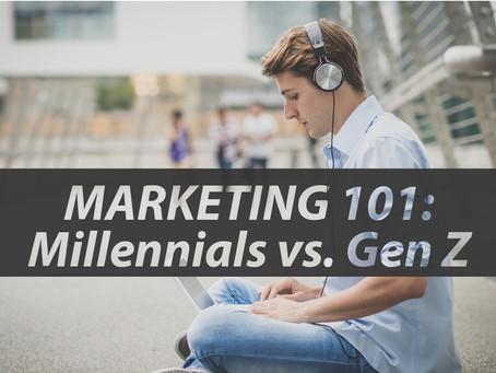 Marketing 101: Millennials vs. Gen Z