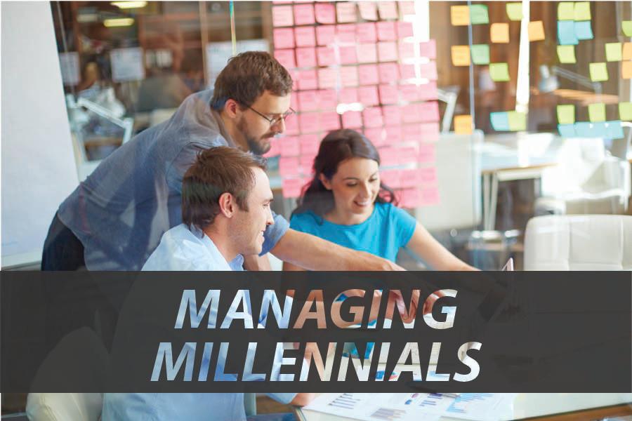How do you manage Millennials