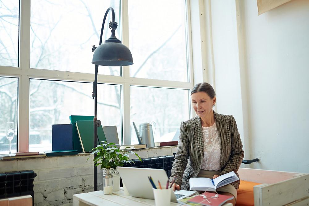 Entrepreneurial Woman Startup