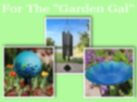 Garden Globes, Wind Chimes, Bird Baths, Garden Decor