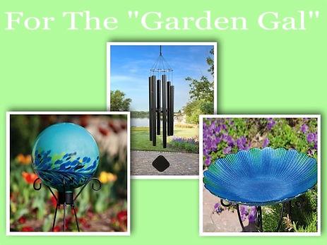 Garden Globes, Wind Chimes, Bird Baths, Garden Decor