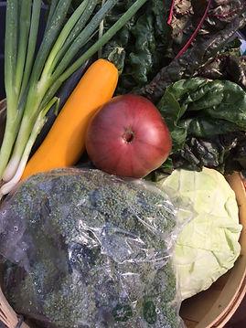 Farm-Grown Produce, CSA Basket
