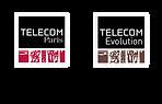 Logos Télécom Paris + Télécom Evolution