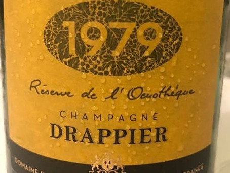 Just Released! Drappier Reserve de L'Oenotheque 1979 & 2002