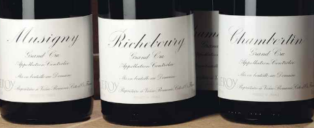 A Selection of Domaine Leroy including Richebourg, Musigny and Chambertin