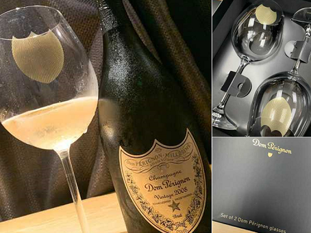 Special Offer! FREE Dom Perignon Champagne Glass Set for Purchase of Champagne over HK$3,000