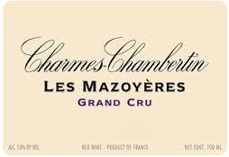 Mini vertical parcel - Vougeraie Charmes-Chambertin les Mazoyeres, up to 95pts Allen Meadows