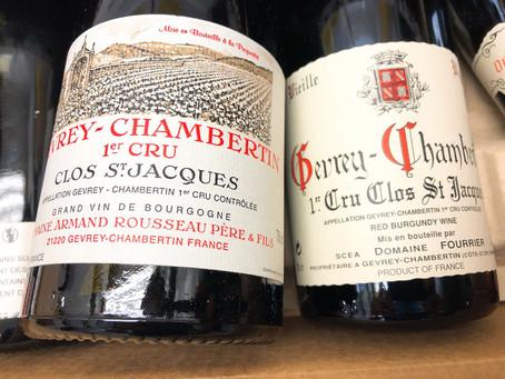 Armand Rousseau & Fourrier Gevrey-Chambertin 1er Cru Clos St Jacques Selections