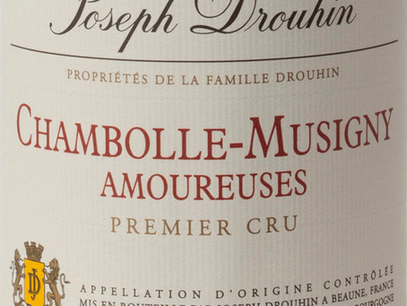 "94-96pts ""Sensual and Nicely Defined"", 2017 Joseph Drouhin Chambolle-Musigny Les Amoureuses 1er Cru"