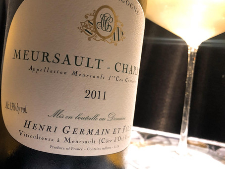 "2014 Henri Germain Meursault Les Charmes - ""This beauty is pretty much textbook Charmes"" A"