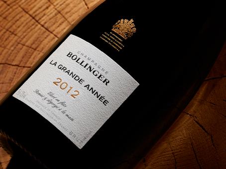 Latest Release! 95pts 2012 Bollinger La Grande Annee from Only HK$799/bt