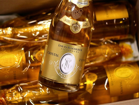 Louis Roederer Cristal from 1988 to 2008, All Immediately Available from Stock!