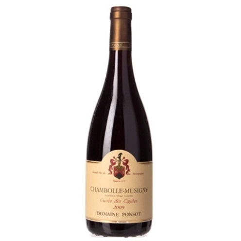 Chambolle-Musigny Cuvee des Cigales 2009 | Ponsot (1*75cl)