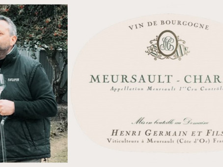 "A Producer of ""Intensely Classic"" Meursault - Henri Germain Limozin and Les Charmes 1er Cru 2018"