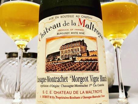 The Very Last 24 Bottles, Ex-Domaine - 2010 Maltroye Chassagne-Montrachet Morgeot Vigne Blanche 1er