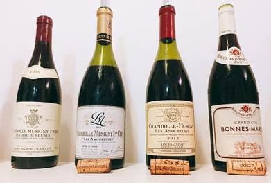 Recommendation after a Chambolle Musigny Tasting - Jadot Amoureuses and Bouchard Bonnes Mares