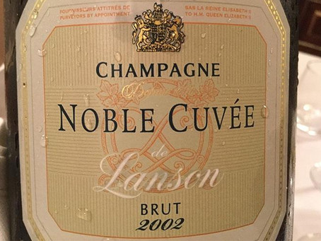 A Selection of Lanson's 2002 Noble Cuvée Champagne, from HK$590 per bottle