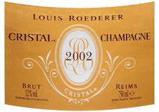 "Friday Offer - Louis Roederer Cristal 2002, ""A Gorgeous Champagne"" 96 pts Antonio Galloni"