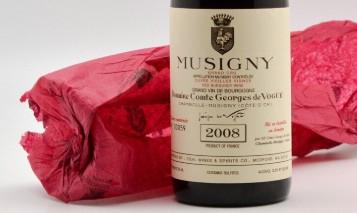 Higher-scored than Mugnier & Roumier! Comte de Vogue Musigny Vieilles Vignes 2006 & 2008