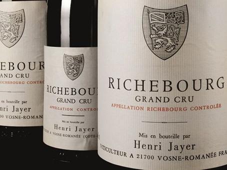 A Serious Wine Collector's Dream! Old Vintage Henri Jayer Richebourg Grand Cru