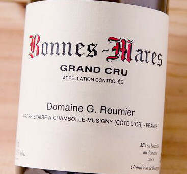 A great selection of Burgundy red includes Roumier, Jacky Truchot and Thibaut Liger Belair