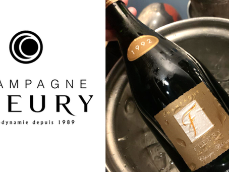 Highly Recommended: Old Vintage Champagne from Fleury from 1992 to 2004