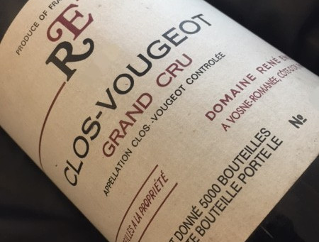A Lost Domaine... Rare Availability from Rene Engel Clos Vougeot 2000, 2002 & 2003