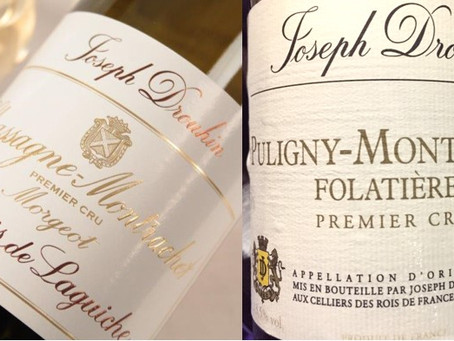 Direct from Domaine, Two Excellent Whites from Joseph Drouhin