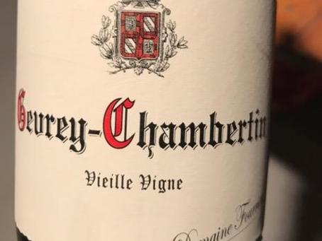A Spectacular Vertical Tasting Opportunity! Fourrier Gevrey-Chambertin Vieille-Vigne 2012-2017