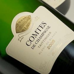 97pts RJ 2005 Taittinger Comtes de Champagne, a must-buy Blanc de Blanc prestige cuvee