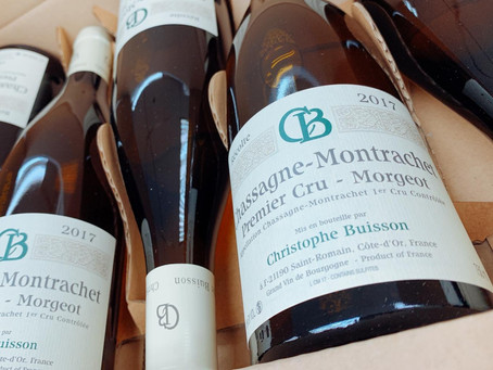 🧧CNY SALE #5: Tasted & Recommended! Ex-Domaine Christophe Buisson Chassagne-Montrachet Morgeot