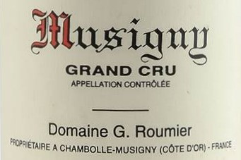 94-98pts Vertical Offer of Georges Roumier Musigny from 2005 to 2008