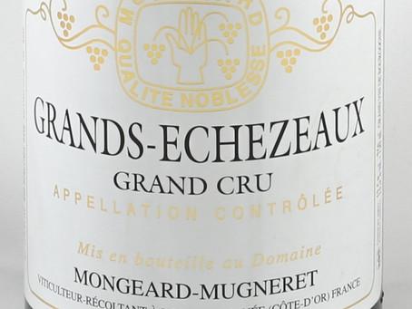 Well-below Market Average Price, Mongeard-Mugneret Grands Echezeaux 2017 at HK$1,850 per bottle