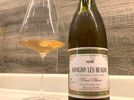 A 1996 Pinot Blanc from Bourgogne, Ex-Domaine Release from Pierre de Crillon, Available Now!